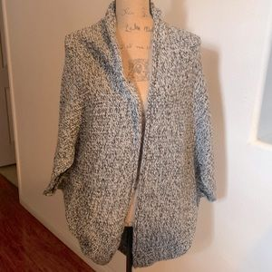 Anthropologie cocoon knit cardigan M